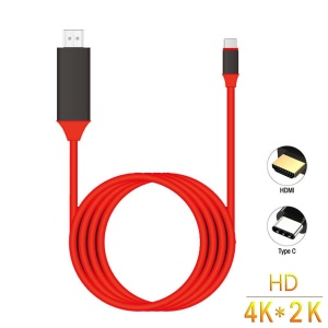 USB C to HDMI USB 3.1 Type C Male to HDMI Male 4K High Speed Cable Adapter for 2017 MacBook ChromeBook Pixel Samsung Galaxy S8