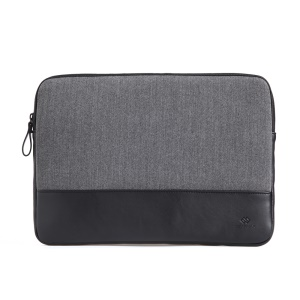 GEARMAX England Style Laptop Sleeve Case Pouch for Macbook Pro / Pro Retina Display 15.4 inch - Grey