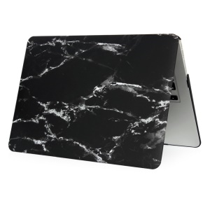 Marble Pattern Hard Case for MacBook Air 11.6-inch - White / Black