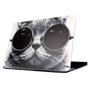 Snap-on Hard Case for Macbook Air 13.3 Inch - Cool Cat Wearing Sunglasses