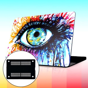 For Macbook Air 13.3 Inch Hard Shell Cover - Watercolor Painting Eye