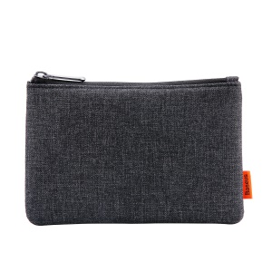 BASEUS Simple Waterproof Cloth Storage Bag for Phone/Power Bank/Hard Disk etc - Black