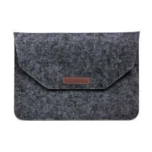 13.3-inch Felt Laptop Sleeve Bag Case for Macbook Air/Pro 13.3 Inch etc. - Black