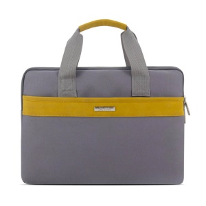 SHINLEE 15.4-inch 900D Oxford Cloth Laptop Protective Pouch with Shoulder Strap - Grey
