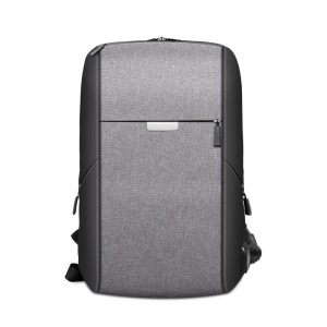 WIWU OnePack BackPack Business Travel Backpack Laptop Bag with USB Charging Port - Grey