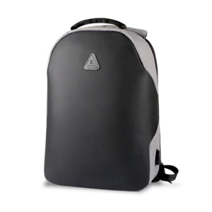 KAKU Yunpai Series KSC-031 Anti-theft Backpack with USB Charging Port for 15.6 inch Laptop - Grey