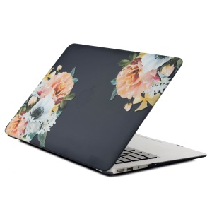 """Pattern Printing Hard PC Cover for MacBook Air 13.3"""" Retina Display A2337 M1 (2020)/Air 13.3'' Retina Display A2179 (2020)/Air 13.3-inch (2019) (2018) A1932 - Vivid Flower"""