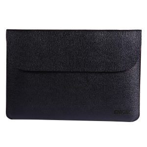 ENKAY Horizontal PU Leather Laptop Sleeve Bag for Macbook Air / Pro 13.3 inch