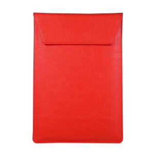 Universal PU Leather Laptop Case [Size 33x24cm] for 13.3-inch Laptop - Red