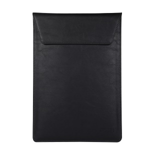 Universal PU Leather Laptop Case [Size 36x26cm] for 15-inch Laptop - Black