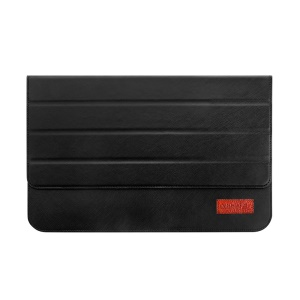 OATSBASF Genuine Leather Laptop Bag for MacBook 12-inch with Retina Display(2015) - Black