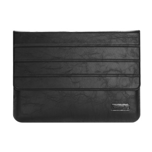 OATSBASF Genuine Leather Laptop Bag for Macbook Air/Pro 13.3 - Black