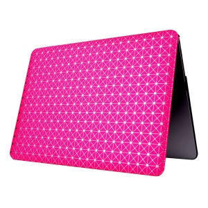 Sparkle Spots Texture Leather Coated Hard PC Case for Macbook Air 13.3 Inch - Rose