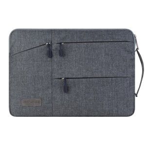 GEARMAX Travel Notebook Sleeve Handbag Case for Macbook Pro 15.4 / Pro 15.4 (Retina) - Grey
