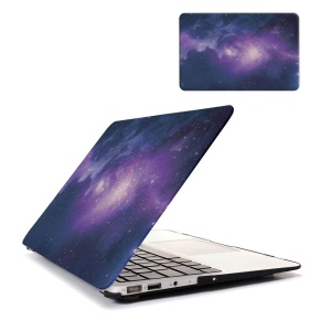 Starry Sky Pattern Hard PC Protective Cover for Macbook Pro 13.3 with Retina Display - Purple