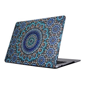Patterned Hard PC Tablet Cover for Macbook Air 11.6 Inch - Tribal Floral Pattern