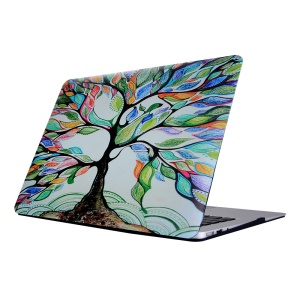 For Macbook Air 11.6 Inch Patterned Hard PC Protective Case - Colored Tree