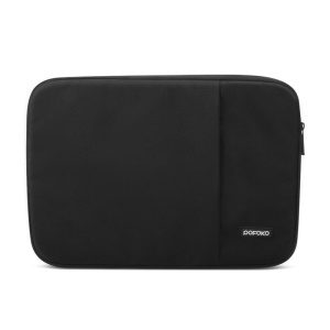 POFOKO Rainbow Series Oxford Fabric Laptop Sleeve Bag for Macbook Air 13.3 inch Etc. - Black