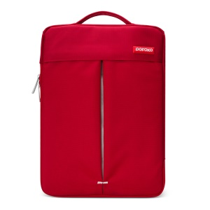 POFOKO Kaibin Series Notebook Case Bag Handbag for Macbook Air / Pro 13.3 inch - Red