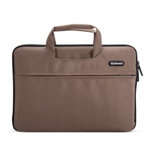 POFOKO Impression 14.0-inch Laptop Computer Sleeve Case Bag - Coffee