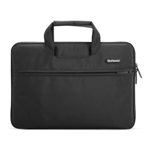 POFOKO Impression 15.6-inch Waterproof Bag Notebook Computer Bag Handbag - Black