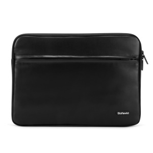 BAFEWLD Carmen Series 11.6-inch PU Leather Notebook Sleeve Case Bag - Black