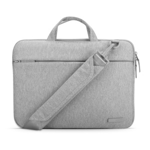 POFOKO CN Series Oxford Cloth Laptop Messenger Bag for MacBook Pro 15.4 inch - Grey