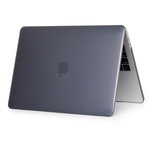Front and Back Crystal Clear PC Hard Cover for MacBook Pro 13 inch (2016) A1706/A1708 - Black