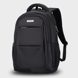 POFOKO QAK Series Men 15.4-inch Laptop Computer Backpack Business Travel Bag - Black
