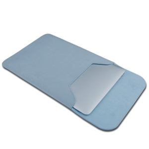 SOYAN Magnetic PU Leather Notebook Sleeve Bag for MacBook 12-inch A1534 - Blue