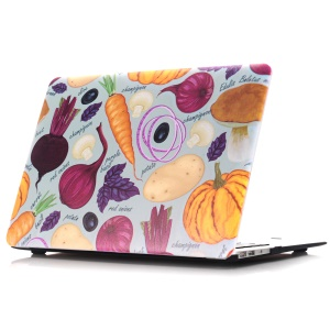 Oil Painting Pattern Hard PC Case for Macbook Air 13.3 Inch (A1369/A1466) - Various Vegetables