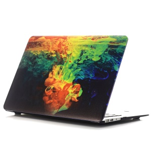 Oil Painting Pattern Hard PC Protector Phone Case for Macbook Air 13.3 Inch (A1369/A1466) - Ink Diffusion