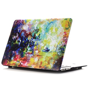 Oil Painting Pattern Hard PC Protector Phone Cover for Macbook Air 13.3 Inch (A1369/A1466) - Colorful Style Painting