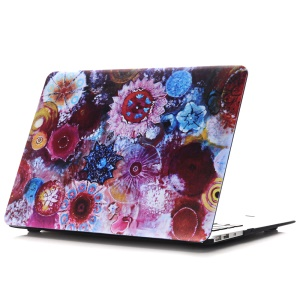 Oil Painting Pattern Hard PC Protection Mobile Phone Accessory for Macbook Air 13.3 Inch (A1369/A1466) - Jellyfish