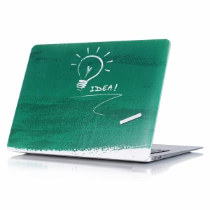 Fresh Pattern Solid Plastic Case for MacBook Air 13.3 inch - Bulb and Idea