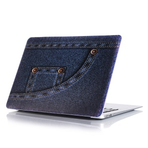 Jean Cloth Pattern PC Hard Cover for MacBook Air 13 inch A1369 / A1466 - Style A