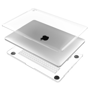 BASEUS 2-Piece Sky Case 1mm Clear Protection Shell Accessory for MacBook Pro 13.3 Inch / with Touch Bar - Transparent