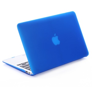 Frosted Hard Snap-on Cover for MacBook Pro 13-inch (2016) A1706 A1708 - Dark Blue