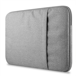 Soft Sleeve Pouch Cover for MacBook Pro 13-inch (2016)/Air 13.3-inch - Light Grey