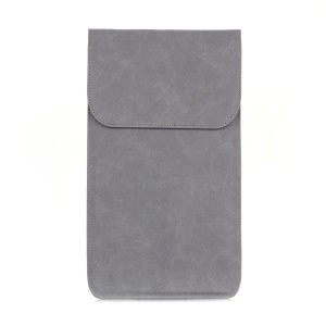 Flannel Notebook Sleeve Bag for Macbook Air 13.3 inch, Macbook Pro 13.3 inch etc. - Grey