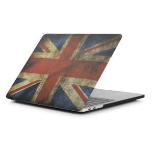 Patterned Hard PC Protective Shell for Macbook Pro 15.4-inch 2016 with Touch Bar (A1707) - British Flag
