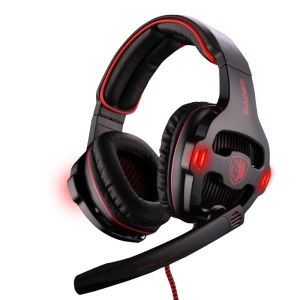 SADES SA-903 7.1 Channel USB Gaming Headset with Mic - Black