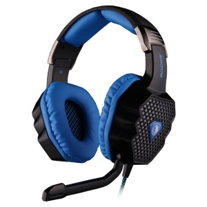 SADES A-70 7.1Channel Surrounding Sound Over-Ear USB Gaming Headset Headphone with Mic