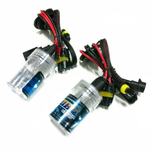 35W H3 10000K Car HID Xenon Replacement Light Bulbs - One Pair