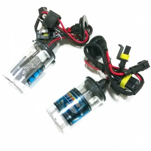 35W H4-2 4300K HID Xenon Headlight Lamps Bulbs - One Pair