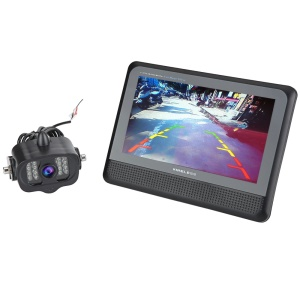2.4G Wireless Car Rear View Camera System 7 inch TFT LCD Monitor CMOS Camera CR006