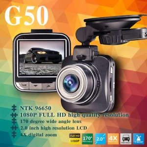 Videocámara BLACKVIEW G50 3.0MP 1080P Full HD Car DVR Videocámara Novatek 96650 - Negro