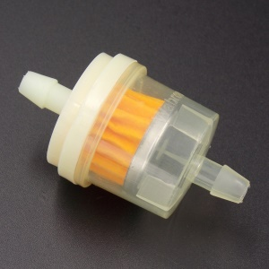 Universal Plastic Fuel Gas Filter for Scooter Motorcycle