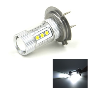 JMT360 H7-80W 16-LED DC12-24V Car Fog Light Head Light - Cool White