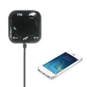 BT-760 Wireless Bluetooth Hands-free Car Kit with FM Transmitter Support TF Card AUX Input